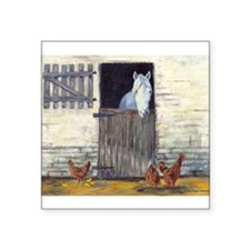 """Stable Square Sticker 3"""" x 3"""""""