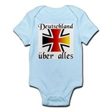 Deutschland uber alles Infant Creeper