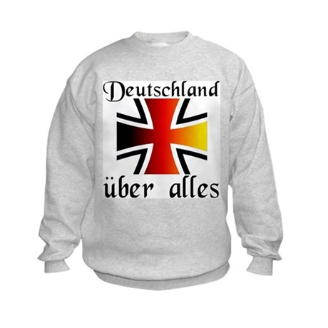 Deutschland uber alles Sweatshirt by krautkorner