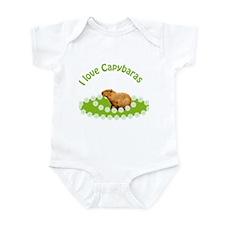 I love Capybaras Infant Bodysuit