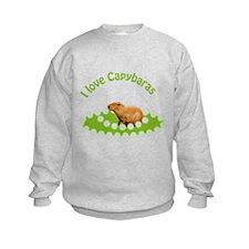 I love Capybaras Sweatshirt