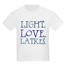 Light. Love. Latkes. T-Shirt