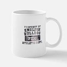 Personalized Property of English Bulldog Mug