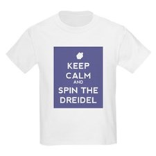 Keep Calm and Spin the Dreidel T-Shirt