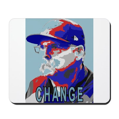Time for a change Mousepad