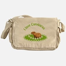 I love Capybaras Messenger Bag