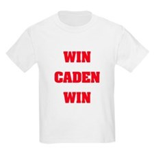 WIN CADEN WIN Kids T-Shirt