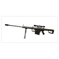 Barrett L82A1 Anti-Materiel Rifle Poster