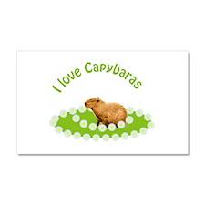 I love Capybaras Car Magnet 20 x 12