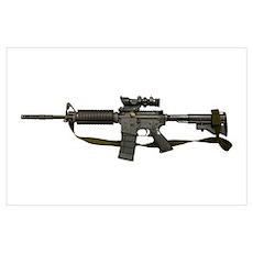 Diemaco C8 carbine Poster