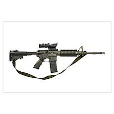 Diemaco CB 5.56mm Canada, assault carbine copy of  Poster