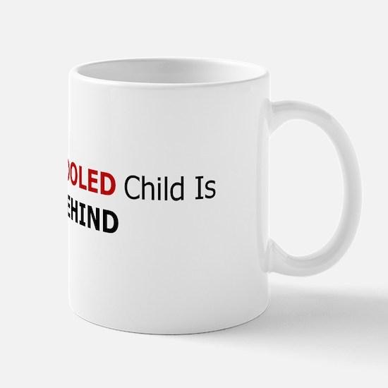 Mug - left behind (bold)