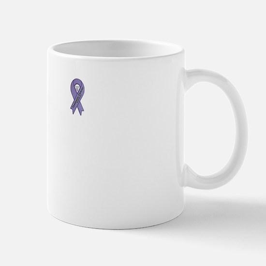 Keep the Ball Rolling Testicular Cancer White Mug