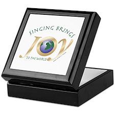 Singing Brings Joy to the World Keepsake Box