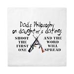 Dad's Philosophy Queen Duvet