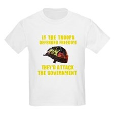 If troops defend freedom T-Shirt