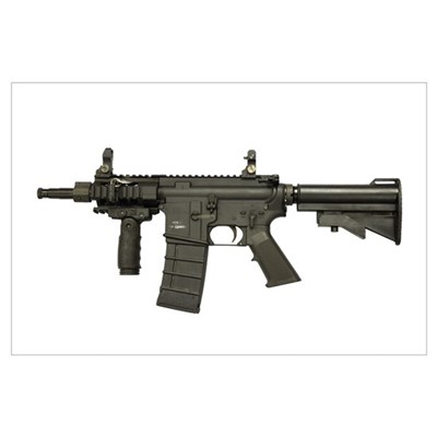 M4 Carbine 5.56mm micro variant Poster