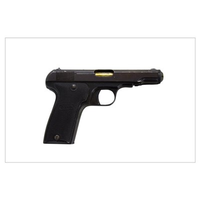 MAB Model D, 7.65mm French police issue pistol Poster