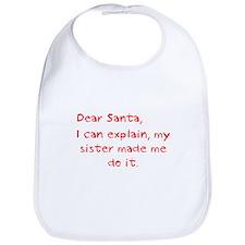 dear santa sister Bib
