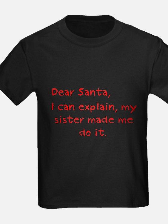 dear santa sister T