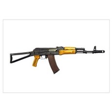 Russian AK-74 5.54mm assault rifle, new caliber Canvas Art