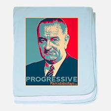 """LBJ - """"Progressive"""" baby blanket"""