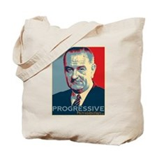 "LBJ - ""Progressive"" Tote Bag"