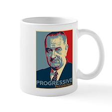 """LBJ - """"Progressive"""" Mug"""