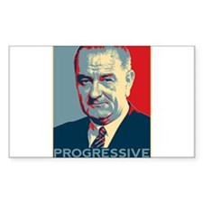 "LBJ - ""Progressive"" Decal"