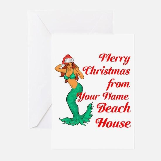 Mermaid Christmas Greeting Cards (Pk of 20)
