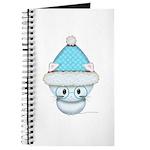 Cute Kitten in Winter Hat Journal