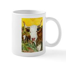 Contemplative Bull Mug