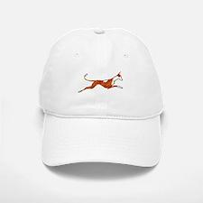 Leaping Ibizan Hound Baseball Baseball Cap