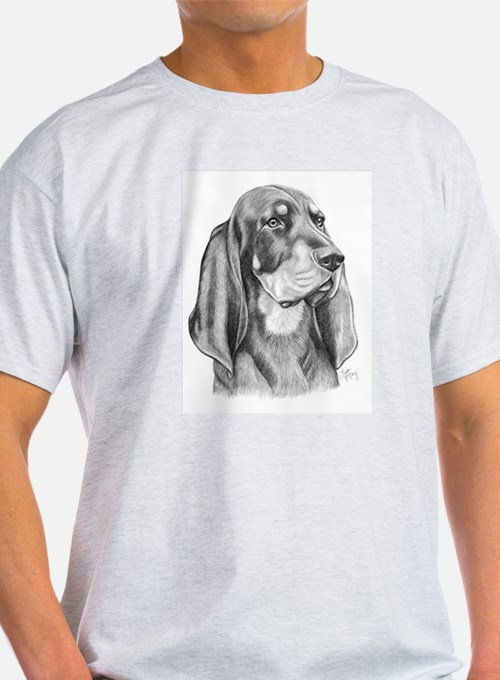 Black and Tan Coon Hound T-Shirt