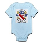 Homil Coat of Arms Infant Creeper