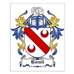 Homil Coat of Arms Small Poster