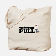 Tractor Pull T-Shirt Tote Bag