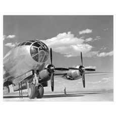A U.S. Army Air Forces B-29 Superfortress bomber a Poster
