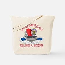 Half My Heart Tote Bag