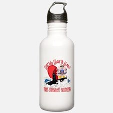 Half My Heart Water Bottle