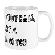 Fantasy Football bitch white Mug