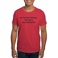 Fantasy Football bitch white T-Shirt