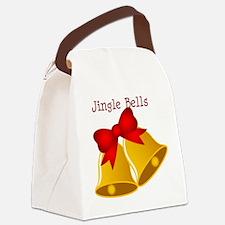 jingle bells Canvas Lunch Bag