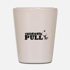 Tractor Pull Logo Shot Glass
