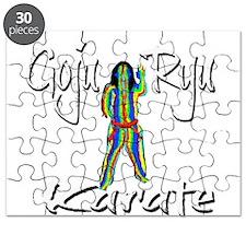 Goju Ryu Karate Splash Design Puzzle