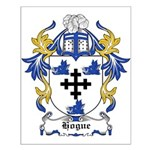 Hogue Coat of Arms Small Poster