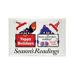 Season's Readings Rectangle Magnet (10 pack)