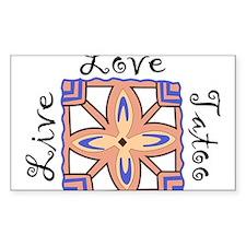 Live Love Tatoo Decal