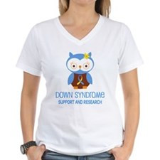 Down Syndrome Support Owl Shirt