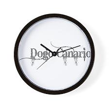 Dogo Canario Wall Clock